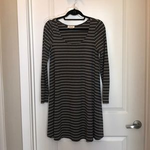Dresses & Skirts - Stripe work dress